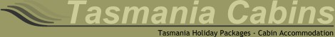 Tasmania Holiday Packages from Tasmania Cabins - Logo