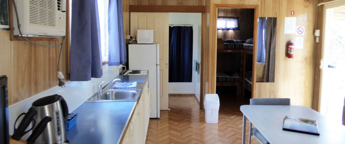Big4 Iluka on Freycinet Holiday Park - Standard Park Cabin - Kitchen