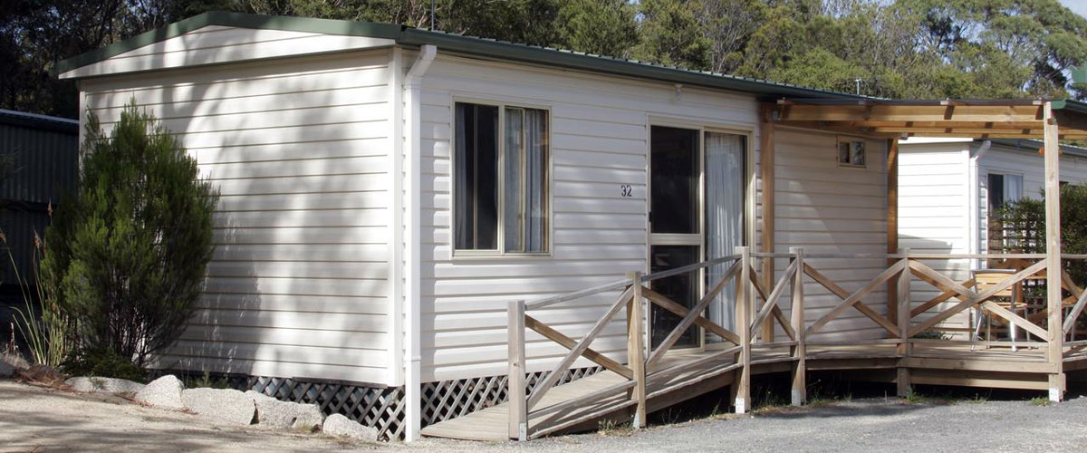 Big4 Iluka on Freycinet Holiday Park - Standard Park Cabin